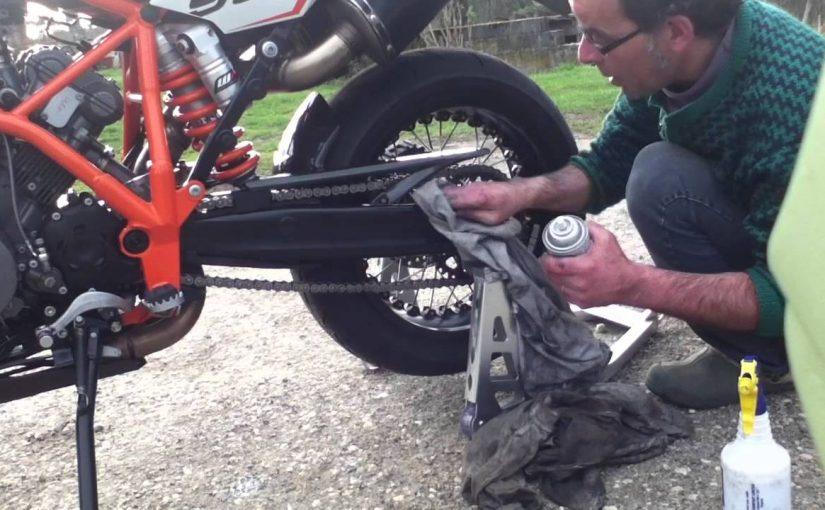 Bien entretenir sa moto