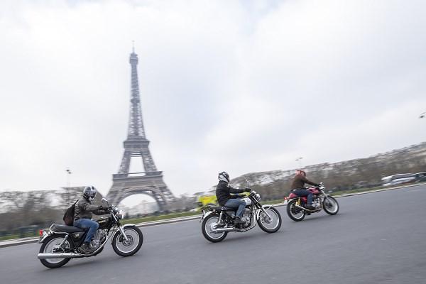 Une moto : le meilleur moyen pour circuler à Paris